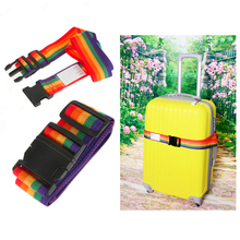 CH-18A PVC box packing PP material 3 dials combination custome travel luggage strap