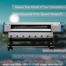 second-hand 12 monthes warranty wide size 6feet plotter de impresion