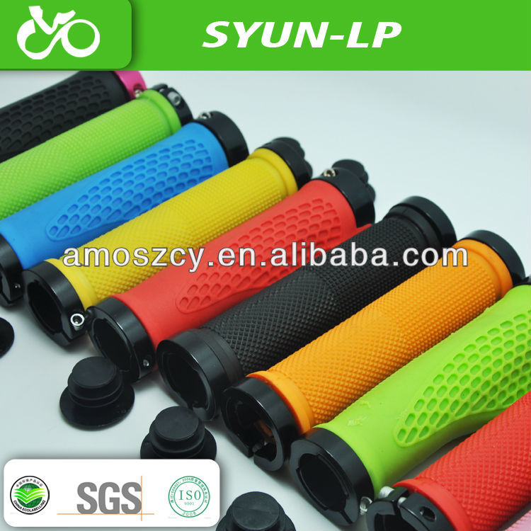 TPR rubber plastic colorful bicycle grips