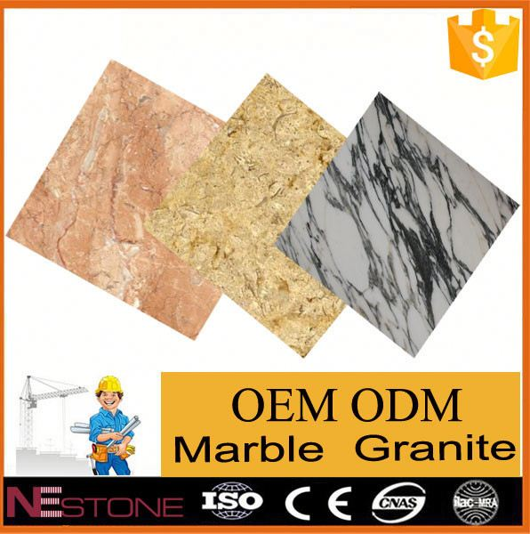 China natural stone buy marble tile in pure color range