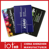Promotional Credit Card USB Flash Drive with Free Logo Print