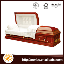 WESTON CHERRY cheap caskets wholesale used coffins for sale