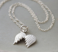 Angel Wings Designed Chains Necklace for Gift
