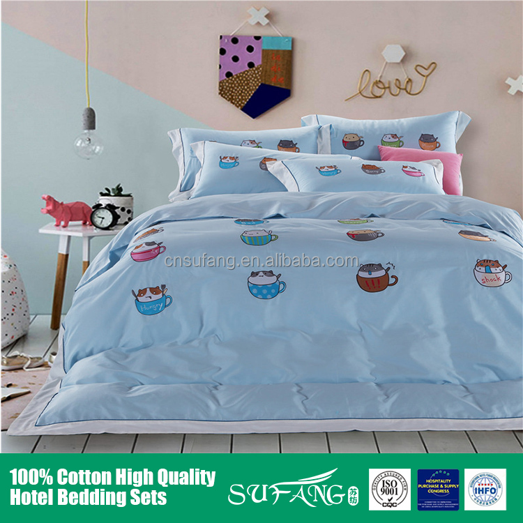 Baby room bedding/New design baby bed linen 100% cotton baby bedding sets