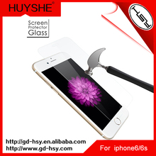 HUYSHE Premium Commonly Used Smart Phone Accessories,Tempered Glass Screen Film Protector for iphone 6s