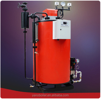 500kg/hr Fuel Gas Steam Boiler Used in for Food Processing Industry