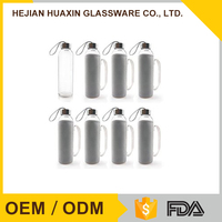 High Borosilicate Portable OEM/ODM Fashion Food Grade Glass Bottles