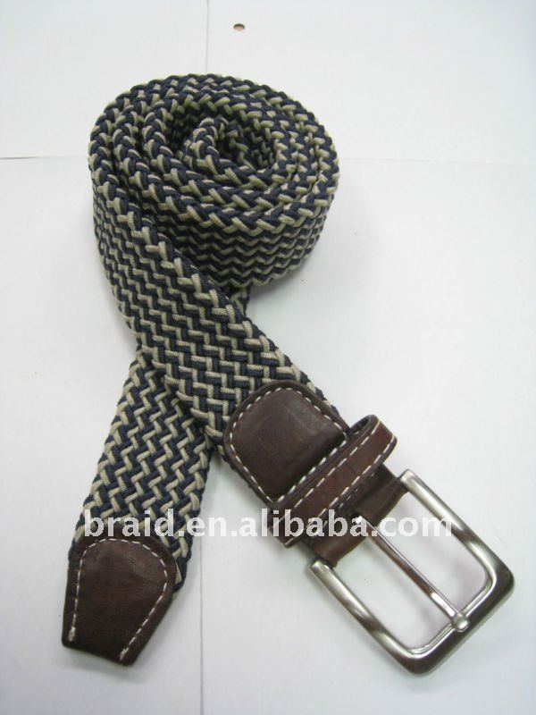 braided thick webbing stainless steel belt