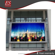 China video Front Maintenance P10 full color led dot matrix outdoor display for government symbol