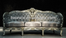 Luxury sofa sets, european noble style living room furniture