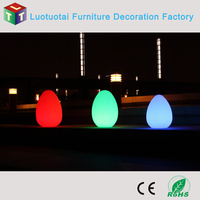 32cm Cordless/Remote control Rechargeable LED Egg Mood Lamp