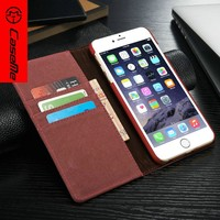 Top quality jean+pu leather case for iPhone 6/6plus,for iPhone 6/6plus mobile phone accessories ,for iphone 6/6plus cover