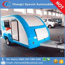 Factory hot wholesale teardrop camping trailer for travel use