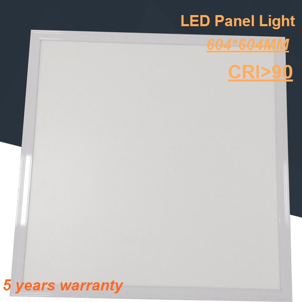 for Internet Bar Silver frame DALI dimmable led panel 600x600 36w from factory in Shenzhen, China