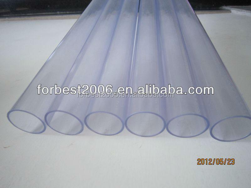 Large diameter mm clear hard pvc pipe tube