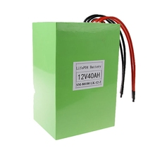 KOK POWER 12V 40Ah Cylindrical Cells Custom 12v Rechargeable Battery with BMS