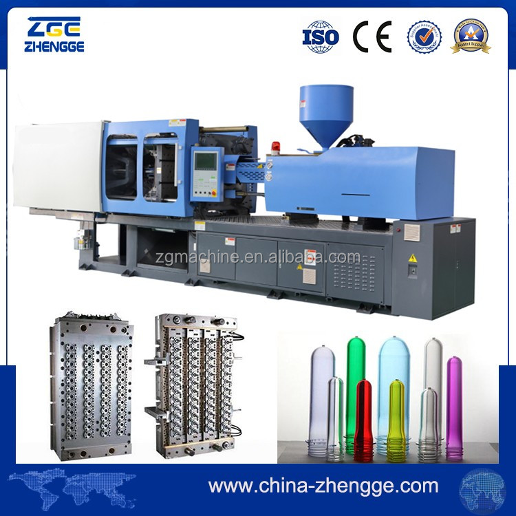 72 Cavity PET Preform Making 750 Ton Injection Moulding Machine