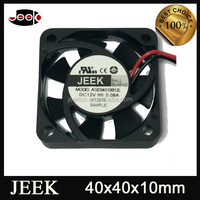 High speed cpu cooling fan 3 wire 40x 40x10 5v 12v 24v 4010 small dc fan