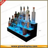 Acrylic LED Lighted Liquor Bottle Shelf Bar Display Shelves
