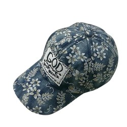 custom patch logo printing denim hats baseball cap young women hat sex with real leather strap