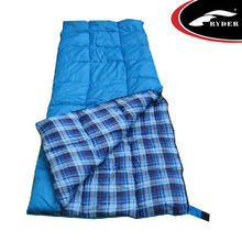 International Standard Custom 100% Cotton Flannel Travel Sleeping Bag Ultra Lightweight Outdoor Camping