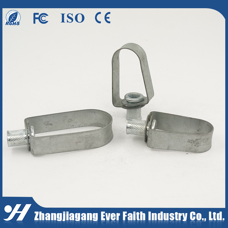 Wholesale Galvanized Hot Sale Steel Pipe Clip Fixing Clamp