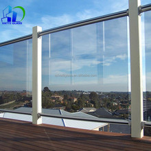 Long-term wholesale 10 mm, 12 mm tempered glass panel fence, tempered glass shower wall panel, tempered glass railing