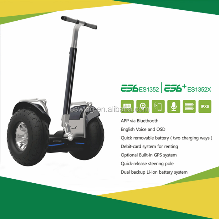 Eswing ES6 China shenzhen wholesale 2 wheel electric skateboard hoverboard scooter