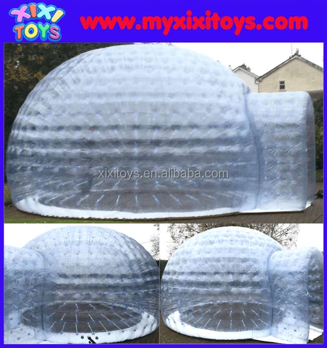 XIXI 6m inflatable clear dome for event,inflatable transparent igloo