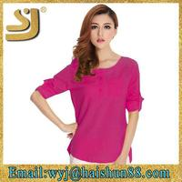 Fashion neck design of blouse models,china manufacturer lady blouses,blouse patterns free