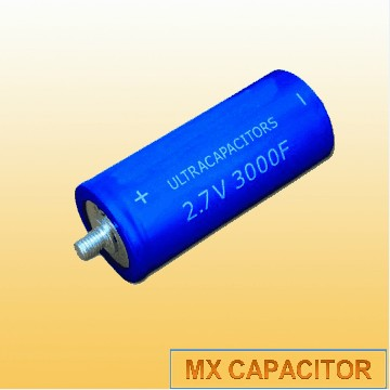 2.7V 1500F 2000F 3000F Super Capacitor,Screw Terminal Ultracapacitor,Gold Capacitor