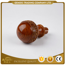 Professional supply wholesale Chinese designable cheap curtain rod finials