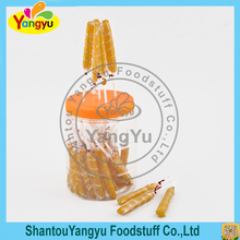 Chinese manufacturers fruity stripe swirl lollipop