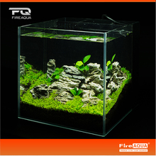 Beauty fish tank aquascaping