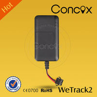 Concox Water Proof WeTrack2 GPS GSM Car/Motor/Electric-bike Quad-band Tracker Super mini gps tracker