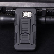 2016 Latest free sample For Samsung Galaxy S6 Active Armor Impact Holster Belt phone Case ,mobile Phone Case For Galaxy s7