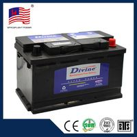 58043 DIN style 12V80AH car battery cover
