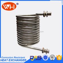 China direct factory cooling coil price,coil spiral titanium tube,coil manufacturer