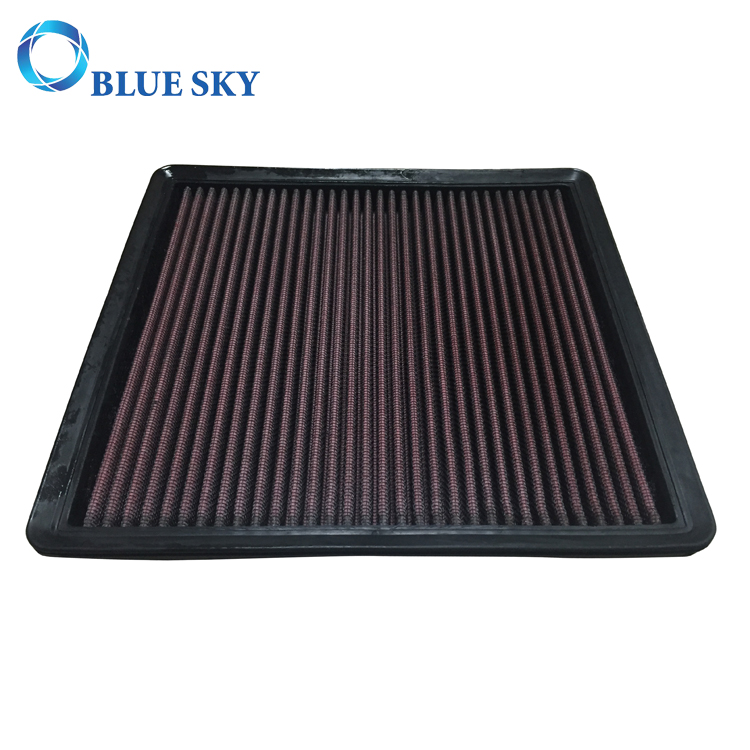 Red High Performance Race Car Panel Auto Air Filter