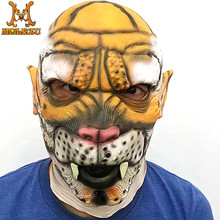 Carnival Party Supplies Masquerade Custom Made Cosplay Leopard Panther Animal Head Latex Jaguar Mask