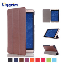 Stand PU Leather Flip Cover For Huawei MediaPad M2 8.0 8 inch Tablet