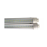 2ft 3ft 4ft 5ft 6ft 8ft UL CUL double sided led tube light fixture 5 years warranty tube