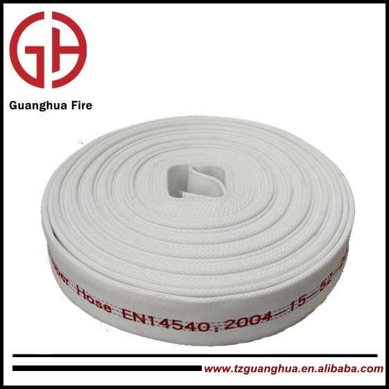 PU/Rubber/EPDM Lining Fire Hose with Bsp Coupling