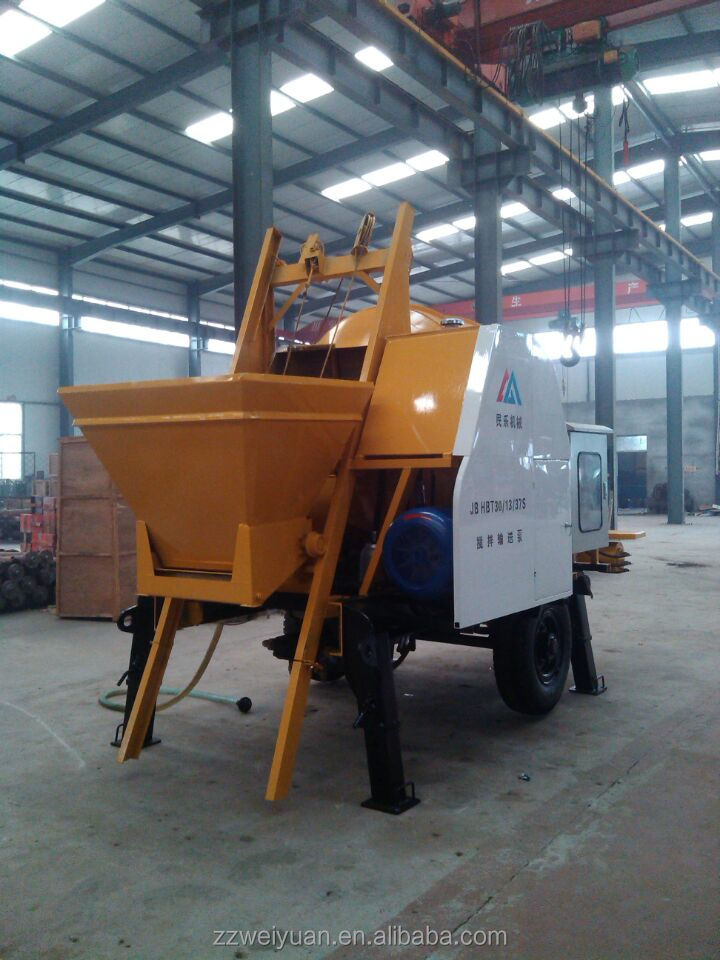 Promotion sales with low price 30m3/h Mini Concrete mixer pump