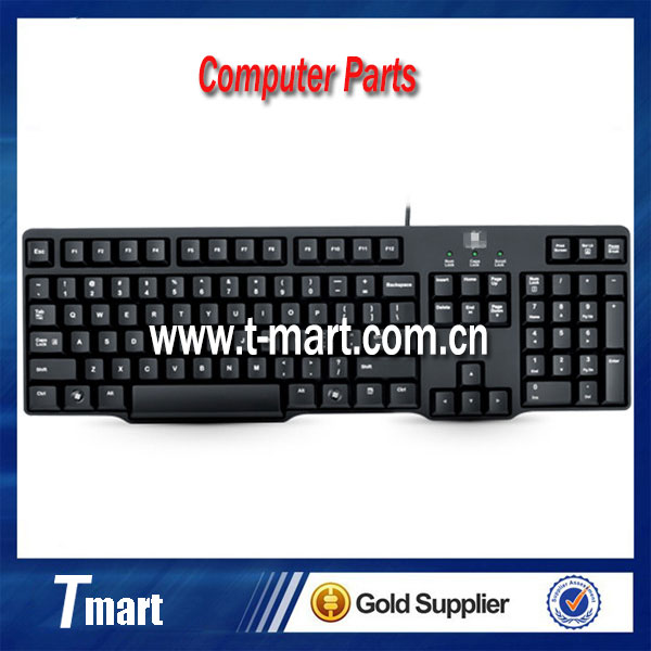 Wholesale 100% working computer parts for Logitech K100 PS/2 wired desktop keyboard in stock and new