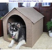 Durable service stylish design detachable dog cave cat carrier outdoor dog houses for large dogs