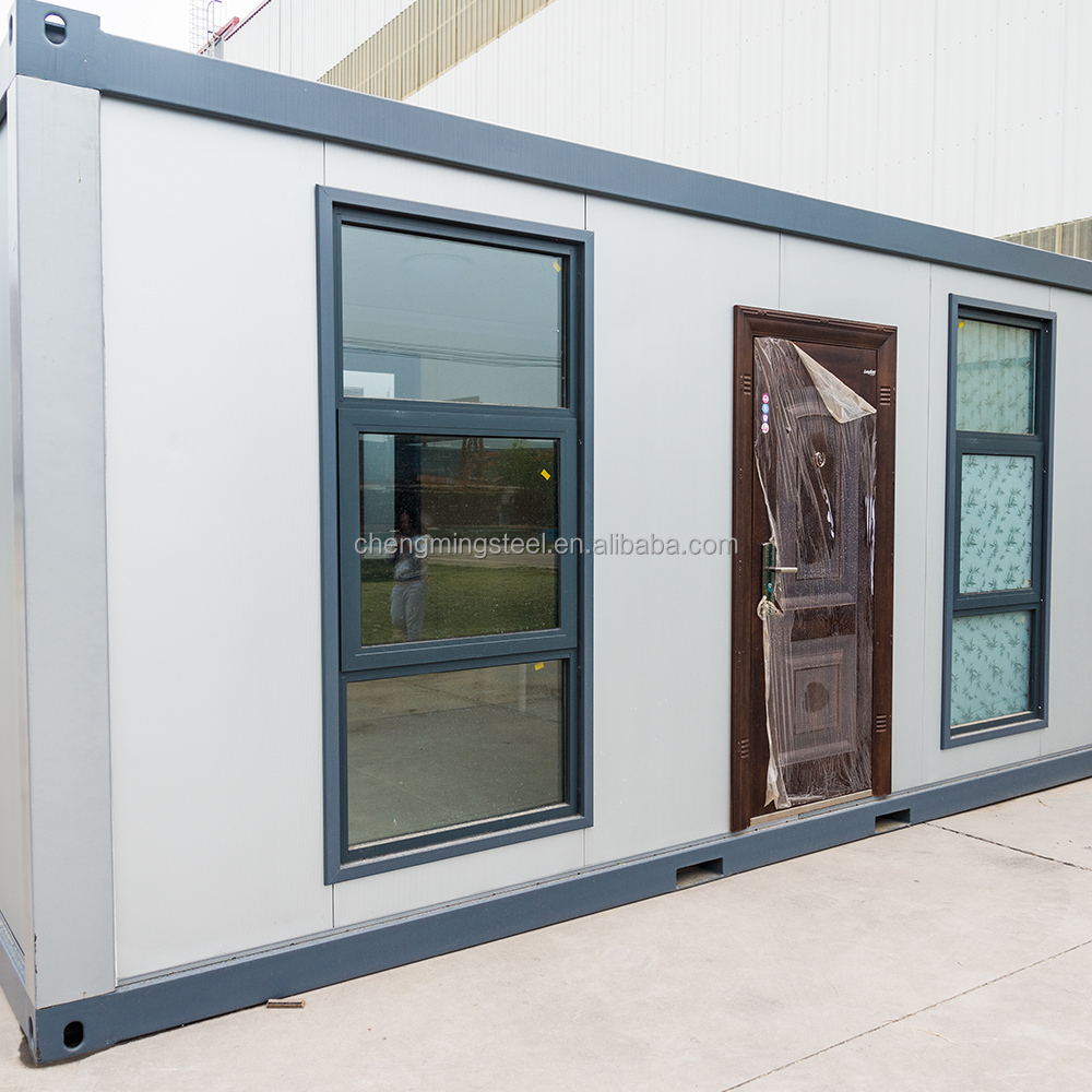 Shock Resistant Convenient Anticorrosive Korea Luxury Widely-Use Easy Installation Modern Prefab Container House