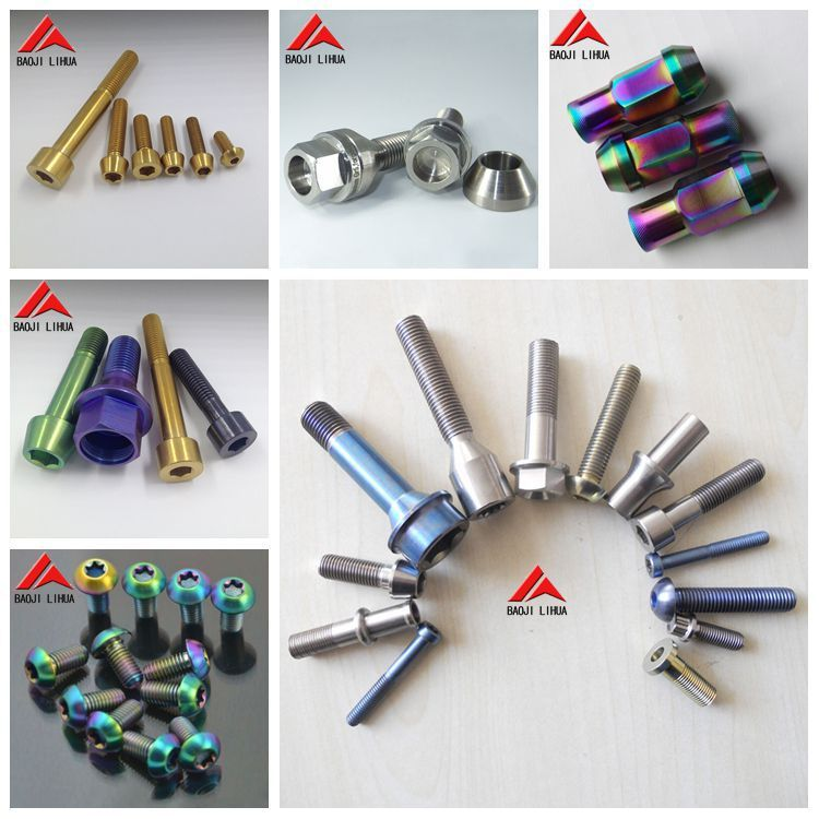 Hot Sale Gr5 titanium screws for bicycle Manufacturer accept paypal