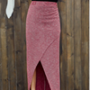 Multi Color Wrap Long Skirts