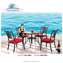 Wholesale China Manufacture Cheap Metal Resort Living Accents Outdoor Furniture,